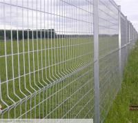 Панель ограждения 3D, d 4/4 мм, высота 1230 мм оцинкованная