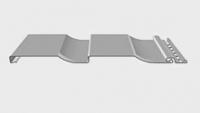 Сайдинг наружный D4,5D Корабельный брус