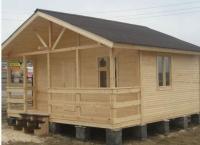 Хозяйственный деревянный домик № 2