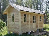 Хозяйственный деревянный домик № 10