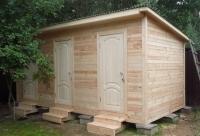 Хозяйственный деревянный домик № 4