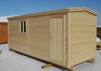 Хозяйственный деревянный домик №6