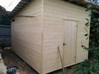 Хозяйственный деревянный домик № 8