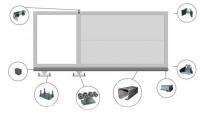 Комплект фурнитуры для откатных ворот KF2