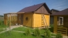 Хозяйственный деревянный домик № 1