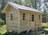 Каркасный деревянный дом  Дача 6х3метра