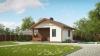 "Каркасный деревянный дом ""под ключ"" KD66 6.5х6.5 метра"