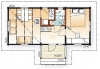 "Каркасный деревянный дом ""под ключ"" Samalma 9х4 метра"