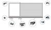Комплект фурнитуры для откатных ворот KF1