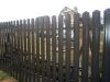 Комплект материалов для забора из металлического штакетника высотой 1,2 метра