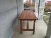 Стол из натурального дерева 1500х700мм